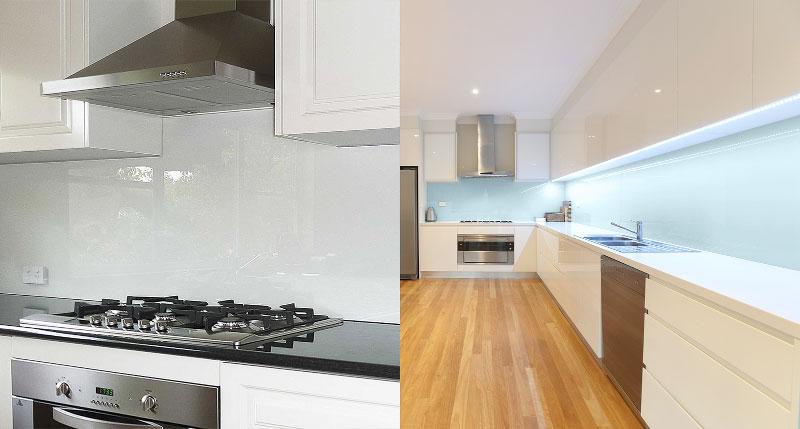 Kitchen Glass Splashbacks Substitute Affordable Splashbacks